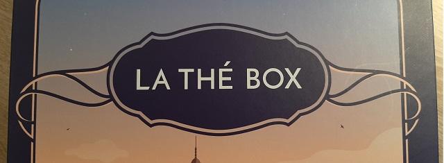 Faire un unboxing – La Thé Box / Octobre2020