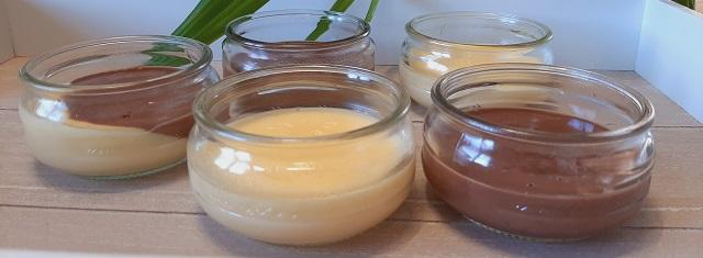 Cuisiner – Crème dessert aux deuxsaveurs