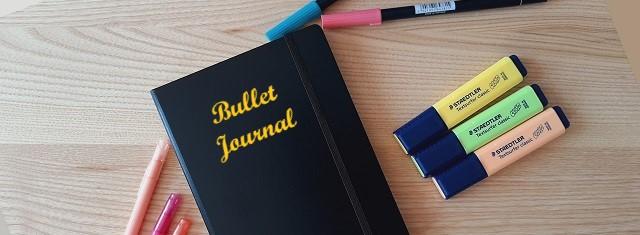 Faire un Bullet Journal – Mise en page Aout2021