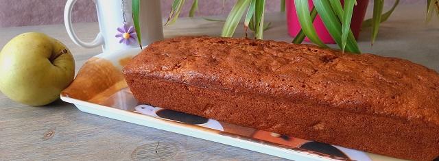 Cuisiner – Le cake à la pomme et à lacannelle
