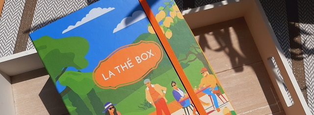 Faire un unboxing – La Thé Box / Juin2021