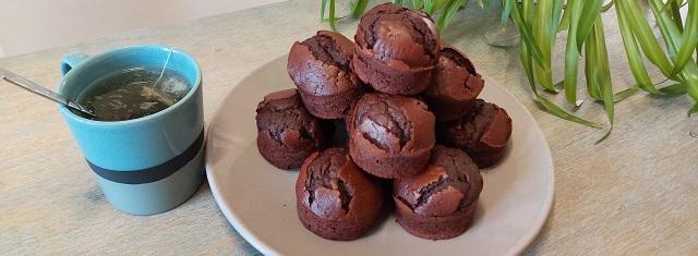 Cuisiner – Les muffins au chocolat VanHouten