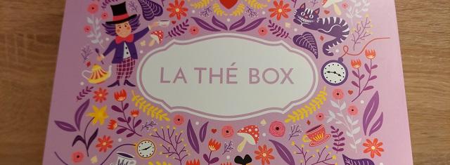 Faire un unboxing – La Thé Box / Septembre2021